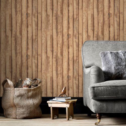 Papierbehang Homestyle FH37536 bruin