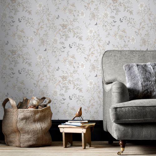 Papier peint Homestyle FH37538 gris