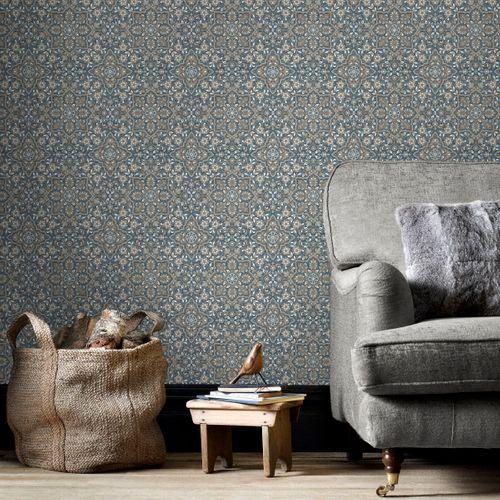 Papierbehang Homestyle FH37542 blauw