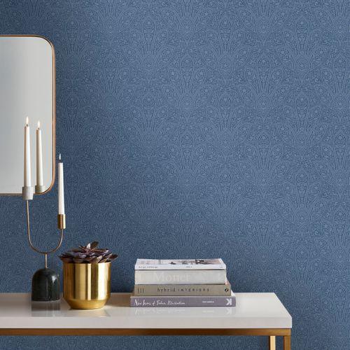 Papierbehang Homestyle FH37546 blauw