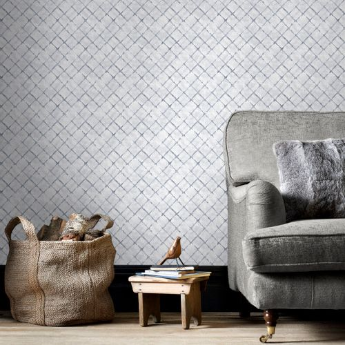 Papierbehang Homestyle FH37551 grijs