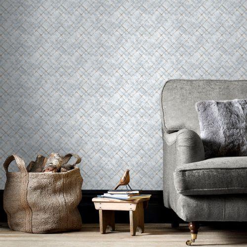 Papierbehang Homestyle FH37553 grijs