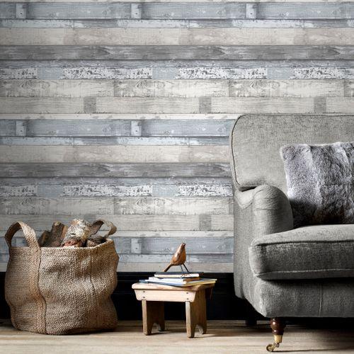 Papierbehang Homestyle FH37554 blauw