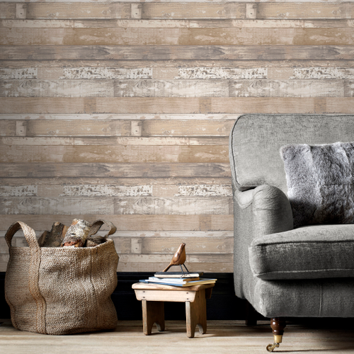 Papierbehang Homestyle FH37556 taupe