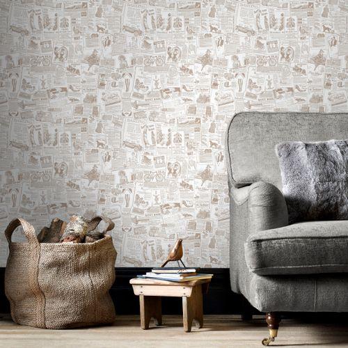 Papier peint Homestyle FH37500 beige