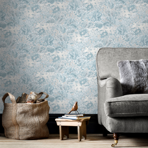 Papierbehang Homestyle FH37502 blauw