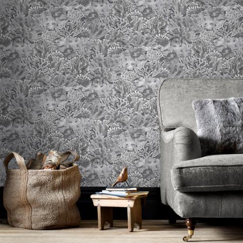 Papierbehang Homestyle FH37503 grijs