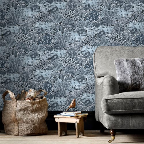 Papierbehang Homestyle FH37504 blauw