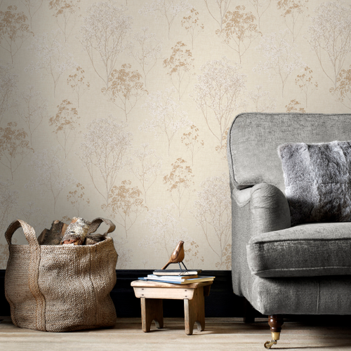 Papierbehang Homestyle FH37508 beige