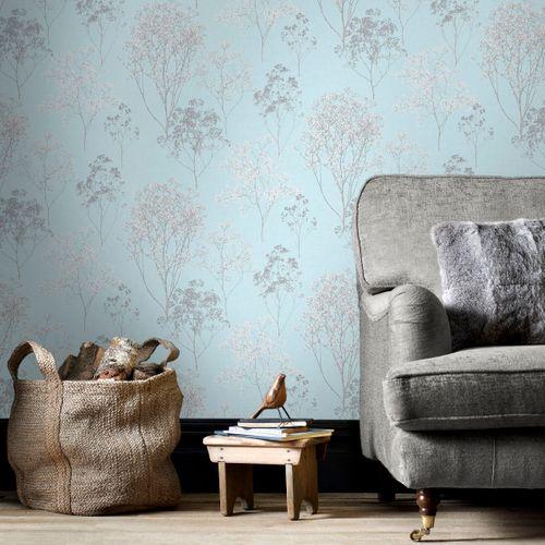 Papierbehang Homestyle FH37510 blauw