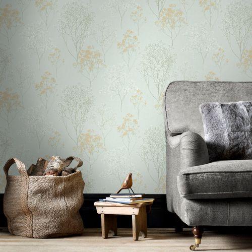 Papierbehang Homestyle FH37511 grijs