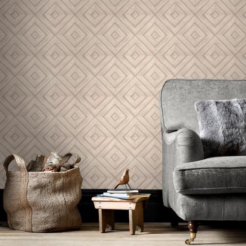 Papierbehang Homestyle FH37514 beige
