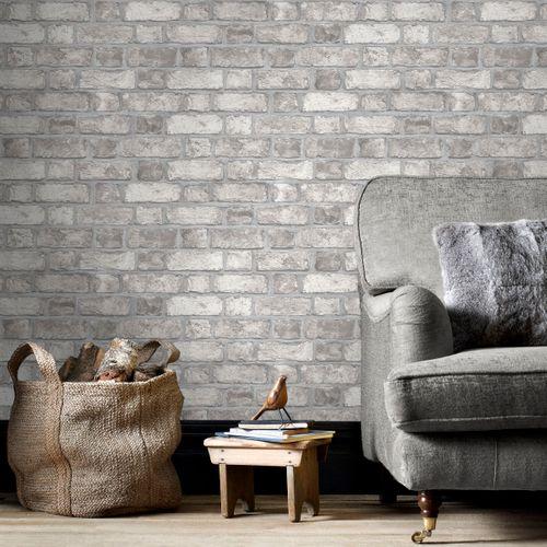 Papier peint Homestyle FH37517 gris