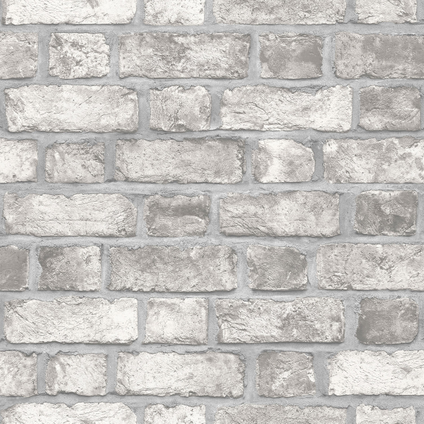 Papierbehang Homestyle FH37517 grijs