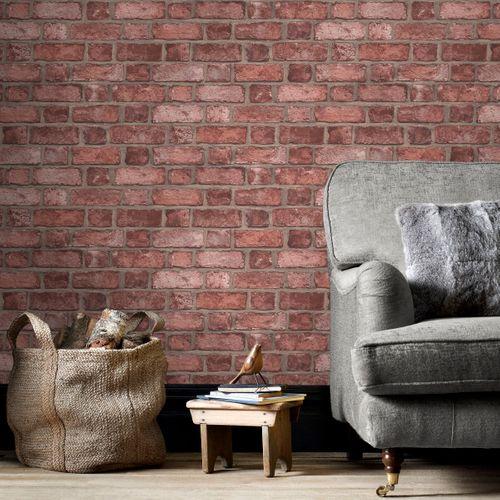 Papier peint Homestyle FH37518 rouge
