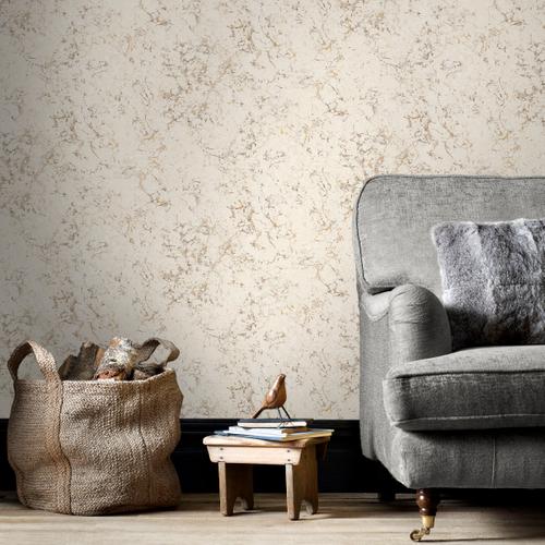 Papierbehang Homestyle FH37522 beige
