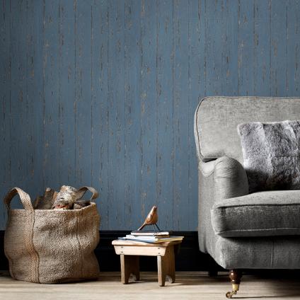 Papierbehang Homestyle FH37531 blauw