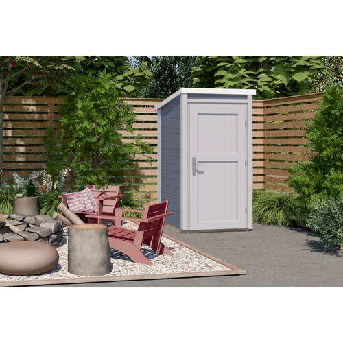 Weka tuinhuis 367 GR1 grijs 95x102cm