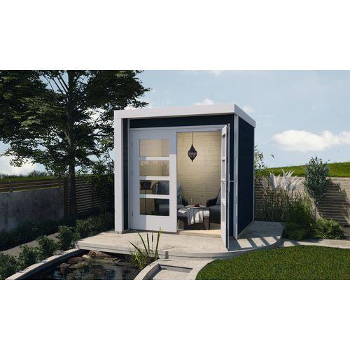 Weka tuinhuis 262 A GR1 antraciet 205x209cm