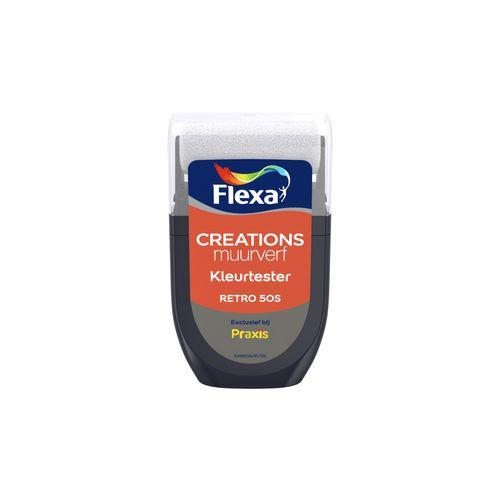 Flexa muurverf tester Creations retro 50s 30ml