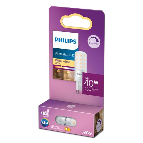 Philips LED-lamp capsule G9 4W warm wit