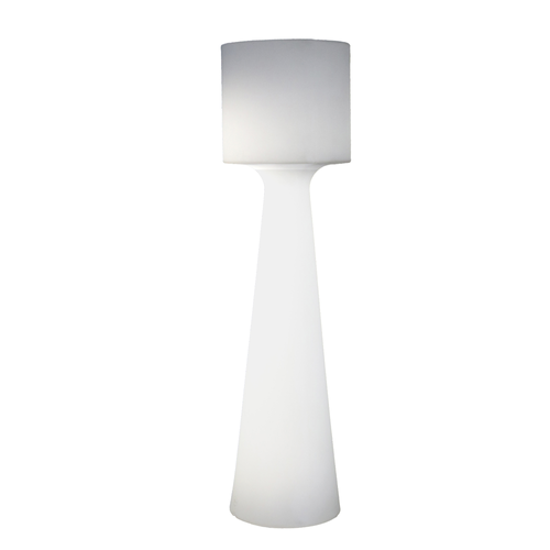 Newgarden vloerlamp Grace wit licht 140cm