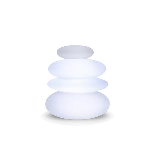 Newgarden tuinlamp Zen Balans wit