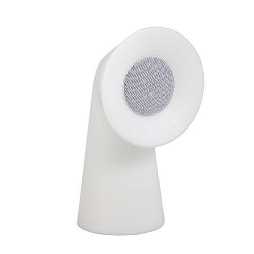 Newgarden tuinlamp met speaker Pipa wit 35cm