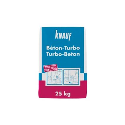 Béton Turbo Knauf  25kg 48 sacs + palette 3004837