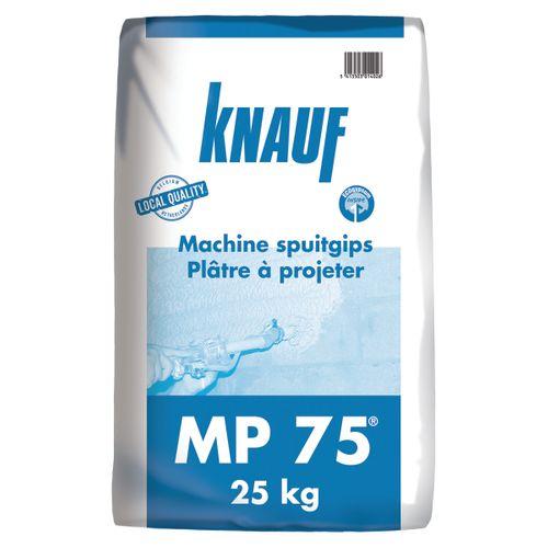 Plâtre Knauf MP75 25kg 45 sacs + palette 3004837