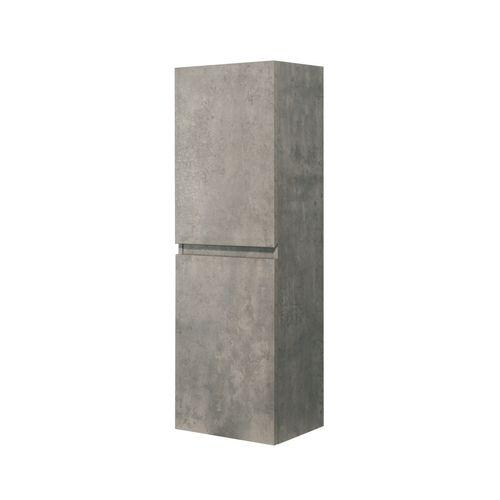 Aquazuro kolomkast Napoli 120cm betongrijs