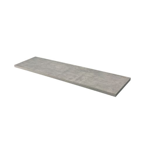 Aquazuro wastafelblad Napoli 180cm betongrijs