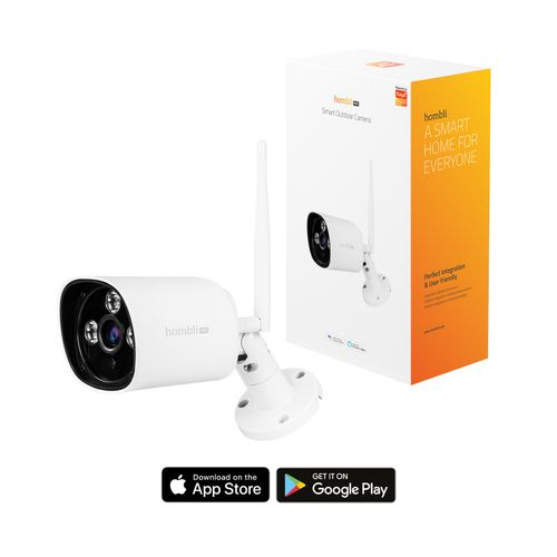 1080P Full HD WiFi Camera – Bediening via Hombli App