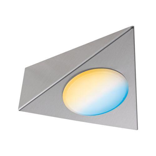 Paulmann spot kastverlichting Clever Connect Trigo tuneable white nikkel 2,1W
