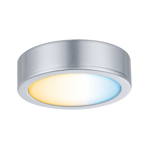 Paulmann spot kastverlichting Clever Connect Disc tuneable white chroom 2,1W