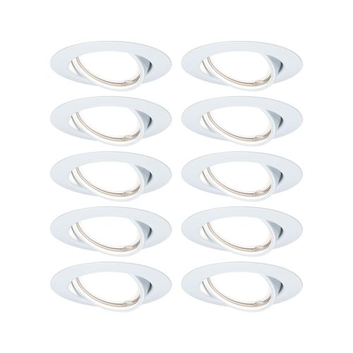 Paulmann inbouwspot LED Base kantelbaar wit 10x5W