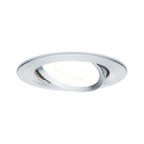 Paulmann spot encastrable LED Nova autour orientable 3-stepdim aluminium 51mm GU10 6,5W