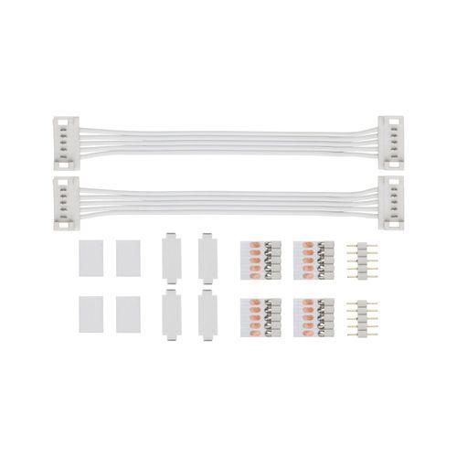 Connecteur universel pour ruban LED Paulmann Function MaxLED blanc - 2pièces