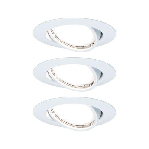 Paulmann inbouwspot LED Base kantelbaar wit 3x5W