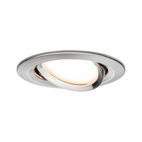 Paulmann inbouwspot LED Nova Coin rond kantelbaar ijzer 6,5W