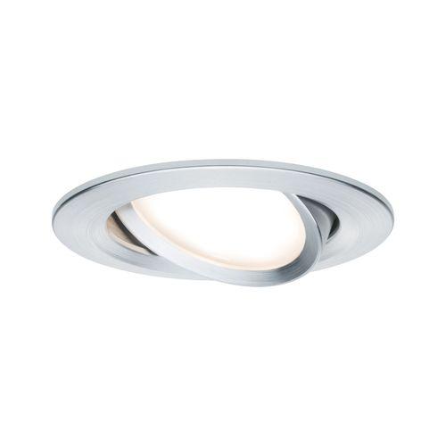 Paulmann inbouwspot LED Nova Coin rond kantelbaar aluminium 6,5W