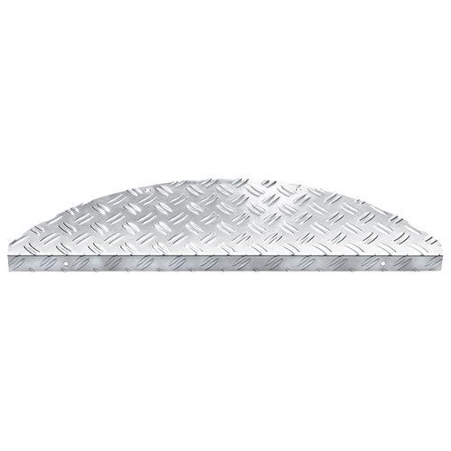 Trapmat Aluminium Steeltred 17x60cm 16 stuks
