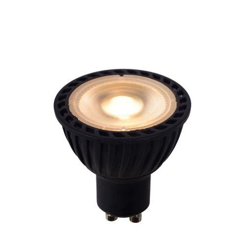 Ampoule LED Bulb Lucide noire GU10 5W