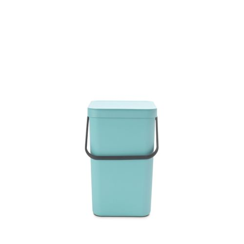 Brabantia afvalemmer Sort & Go mint 25L