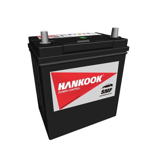 Hankook calcium startaccu 12V 40AH 360A EN S:1 P:3 B00 B19