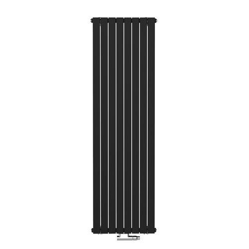 Radiateur design Henrad Verona vertical noir graphite 40,8x180cm