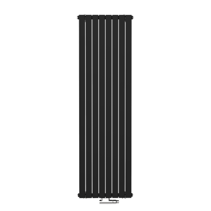Henrad designradiator Verona Vertical zwart 53,8x180cm