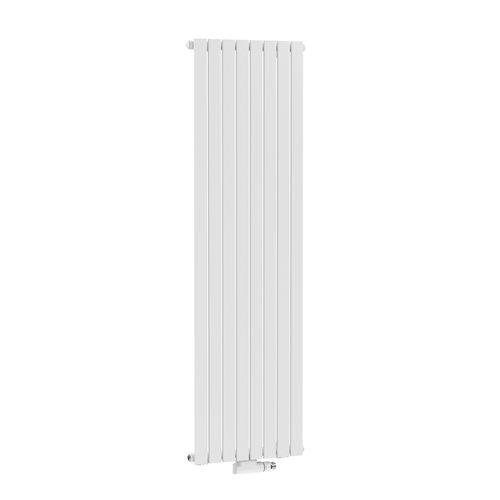 Radiateur design Henrad Verona vertical blanc crème 40,8x200cm