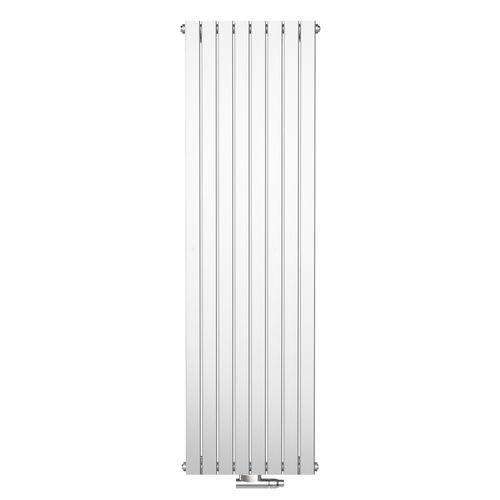 Radiateur design Henrad Verona vertical gris anthracite 53,8x200cm