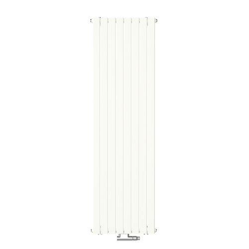 Radiateur design Henrad Verona vertical blanc pur 53,8x160cm